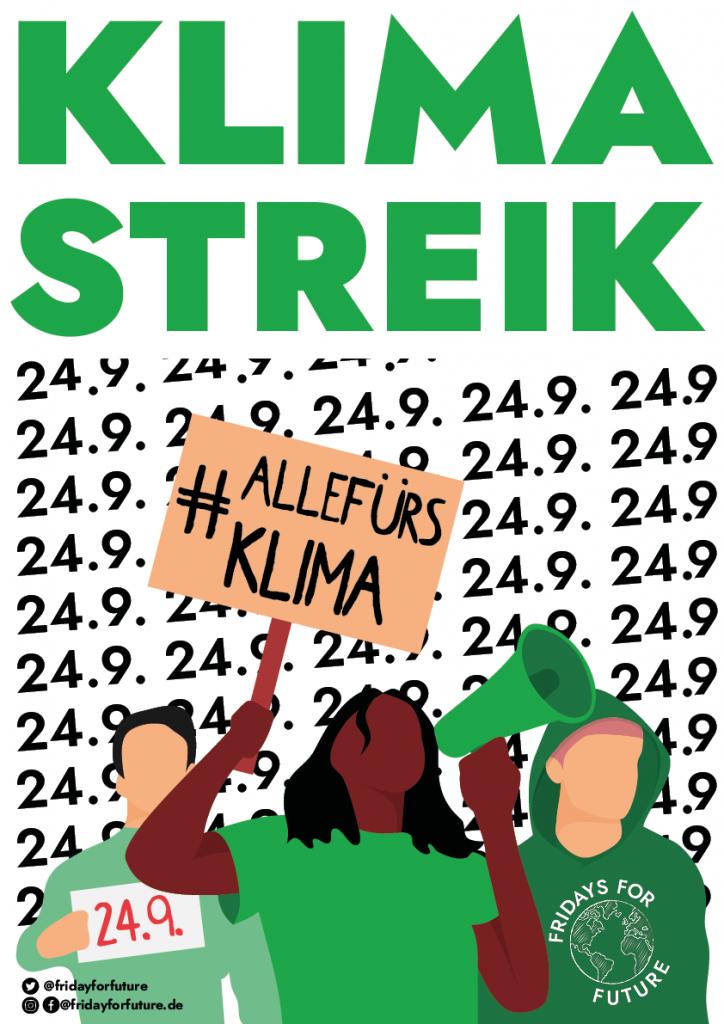 KLIMA STREIK 24.09.2021